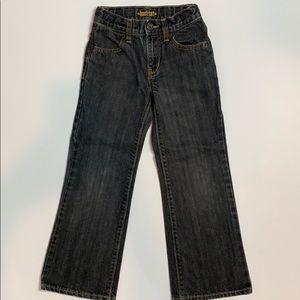 Old Navy Boys Jeans Sz 6 Slim, Adjustable Waist EC